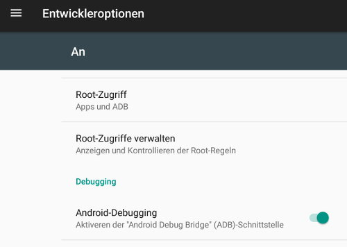 LineageOS auf dem Tablet Samsung Galaxy Tab S2